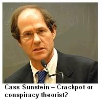Sunstein's Crackpot Theories