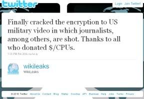 Army Intel ACORNing WikiLeaks?  Web Publisher Under Attack